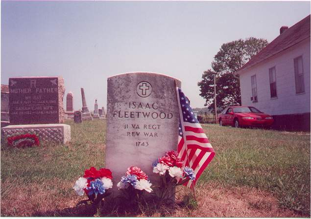 """Old"" Isaac Fleetwood - Pleasant Run Cemetery, Lawrence County, IN"